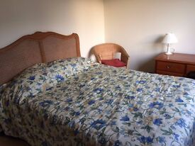 Furnished double room in Dursley in house shared with landlady and quiet dog, £360 pcm inc. bills