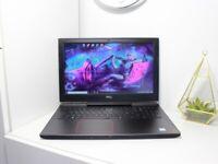 Dell Gaming 120Hz FHD, GTX 1060 6GB, i7-7700HQ, SSD+HDD