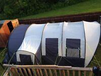 tent suncamp platinum vario 600 plus family tent, like new