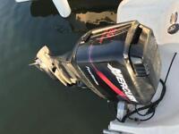 Mercury 90 four stroke outboard power trim