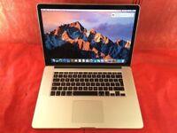 Macbook Pro 15 inch A1398 2.3GHz Intel Core i7 8GB RAM 256GB 2012 + WARRANTY, NO OFFERS - L682