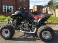 ROAD LEGAL 2008 QUADZILLA 450 RS SPORT DINLI DL801 901 QUAD BIKE WITH V5 LOGBOOK READY TO RIDE