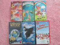 Girls VHS tapes