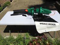 Black and Decker Garden Vacuum/Blower
