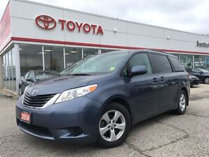 2014 Toyota Sienna LE, One Owner, Power Sliding Doors, Back up C