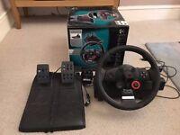 Logitech Driving Force GT Steering Wheel (PS3/PC)
