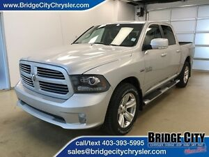 2013 Dodge Ram 1500 Sport- Vented Leather, NAV, Alpine Audio!