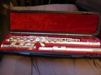 Flute - SMS Academy Wind Instruments, Scholarship Series in Yamaha case with cleaning wand