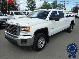 2016 Sierra 3500HD SLE - Diesel - Crew - 8ft Long Box - 28,279KM