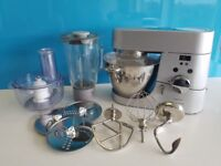 Kenwood Titanium Timer Chef KM030 plus accessories