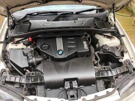 White BMW 1 Series M Sport
