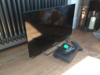 """32"""" HD Ready LED Polaroid TV and DVD player for sale!"""