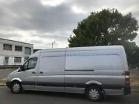 2008 MERCEDES-BENZ SPRINTER 318CDI LWB P/V 3.0L RARE ENGINE.BRILLIANT DRIVE. E/M. A/C.LEATHER.FSH.