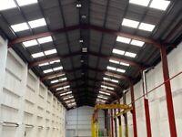 To Let Hi-Bay Warehouse (gantry crane) 11,828 sq.ft - Rent £4.25 (plus VAT) per sq.ft