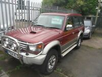MITSUBISHI SHOGUN L.W.B AUTOMATIC 2.8 DIESEL P REG 5 SEATS BIRTLEY CAR SALES DH3 1PR