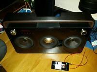 TDK TDK3 Boombox 3 Speaker Boombox
