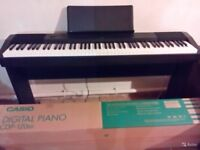 Casio CDP-120BK Digital Piano 88 Weighted Keys (Nearly New)