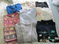 Jumpers and cardigans for sale.