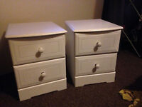 2 x Bedside Drawers