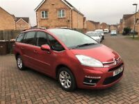 2011 CITROEN C4 GRAND PICASSO AUTOMATIC 1.6 DIESEL, 7 SEATER, CRUISE, PARKING SENSORS