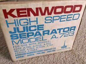 Juicer for Kenwood food mixer