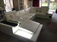 U shape sofa suite