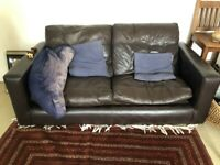 Large leather sofa, for free