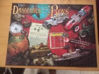 The dangerous book for boys Perfect complete 500 piece jigsaw .boxed