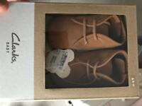 Baby shoes Clark's 6-9 months