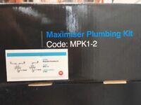 New Maximiser plumbing kit MPK1-2