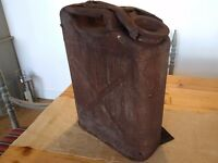 WW2 US army jerry can date stamped 1942 unrestored condition