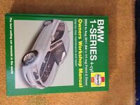 Haynes BMW 1 series manual