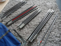 FULL ST OF OUTWELL NEVADA M POLES + 2 SPARE SECTIONS