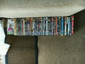 48 DVDs in cases age12 rating