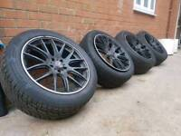 "20"" 5x120 RANGE ROVER ALLOY WHEELS AND TYRES"