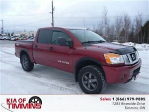 2015 Nissan Titan PRO-4X Rear Camera Crew Cab One Owner