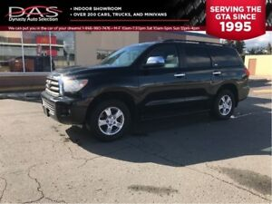 2010 Toyota Sequoia SR5 4.6L V8 LEATHER/SUNROOF/7 PASS
