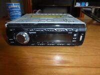 senda i cd889 car cd player radio with usb plug hole aux mp3 wma