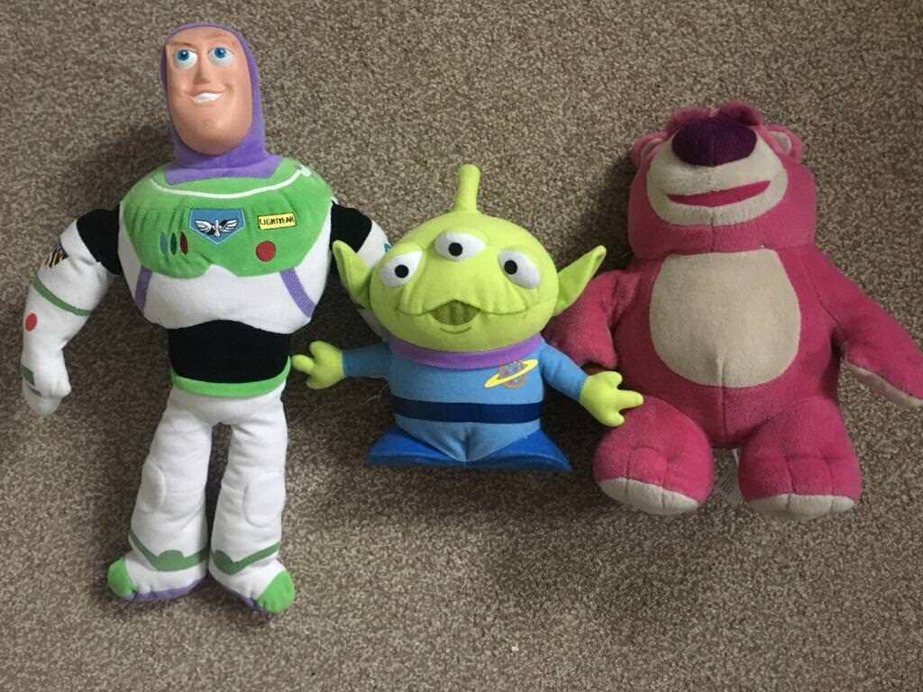 Toy story soft toys