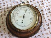 Late Victorian/Edwardian Barometer