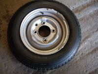IFOR WILLIAMS SPARE WHEEL AND TYRE, NEW