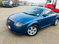 2001 Audi TT Quattro** Full Service History**Blue Leather Interior**MOT July 2019