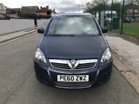 2010 Vauxhall Zafira low millage nice 7 seater family car