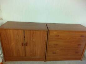 Two door sideboard and drawers