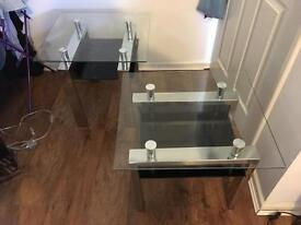 Two side/coffee tables