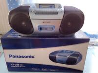 Panasonic Portable Stereo CD Cassette system