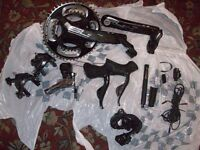 SHIMANO ULTEGRA 68700 / FSA SL-K LIGHT ABS BB386 EVO DI2 11 SPEED CARBON ROAD BIKE GEAR GROUPSET