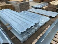 10FT GALVANISED BOX PROFILE ROOF SHEETS - NEW