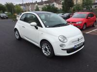 Fiat 500 1.2 Lounge (s/s) 3dr full-history