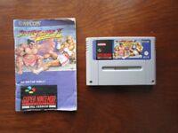 Super Nintendo STREET FIGHTER 2 TURBO